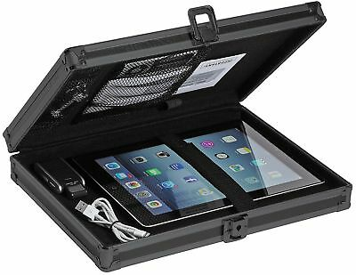 Tactical Briefcase Locking Storage Clipboard Box Forms Holder Tablet Keeper New