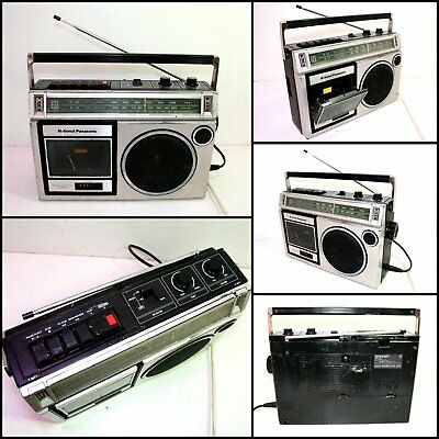 National Panasonic RX-1550A Radio Cassette Boombox