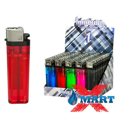 25 IGNITUS Classic Full Size Cigarette Lighter Disposable Lighters Wholesale
