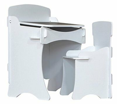 Kinder Desk And Chair white Kdw White 0610395134121