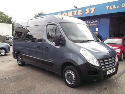 2012 12 Renault Master 2.3 Mm33 Dci Auto Driver Transfer Wheelchair Accessible