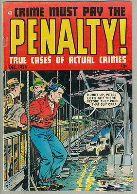 Crime Must Pay the Penalty! #42 Pre-code Crime