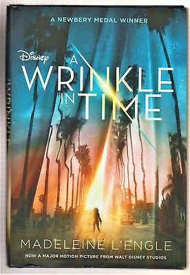 A Wrinkle in Time Movie Tie-In Edition Hardcover Fast Free Shipping