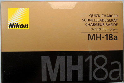 Nikon MH-18a Quick charger for EN-EL3/3E Battery Genuine