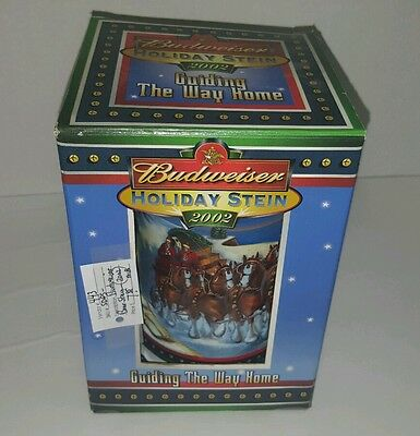 Limited Edition Budwiser Holiday Stein