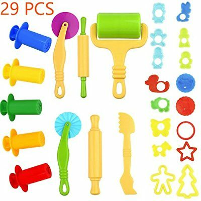 Clay And Dough Tools With Models And Molds, Play Dough Accessories Plastic Dough