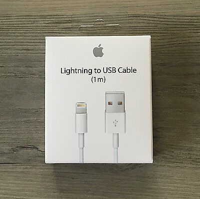 100% ORIGINAL CABLE CHARGEUR USB LIGHTNING APPLE IPHONE 6 5S 5C 7 X IPad/IPOD