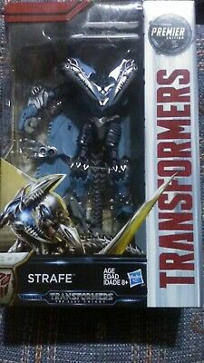 Transformers The Last Knight Premier Edition Deluxe STRAFE Brand New