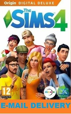The Sims 4 Digital Deluxe (PC/MAC) Digital Download Account/ Multilanguage