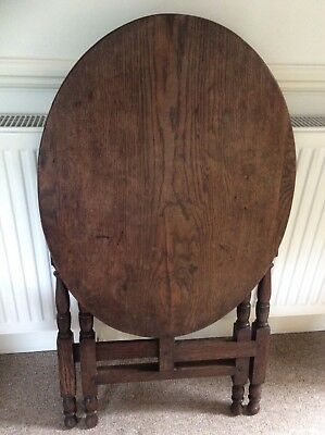 Antique Country  Oak Coaching Table...
