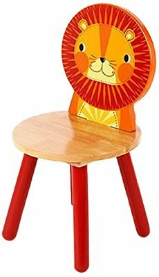 Wood Lion Chair, 26 Cm T-0203 Red 5012824002035