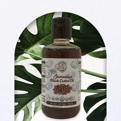 Authentic from Jamaica-JAMAICAN BLACK CASTOR OIL 100%-HAIR/EYELASH GROWTH 100ml