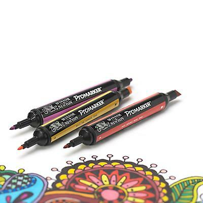 Winsor & Newton Promarker Twin-Tip Graphic Marker RRP £2.75 - Various Colours