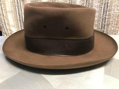 OLD VINTAGE 1950s AUSTRALIAN TRAIN NSW RAILWAYS ? STATION SHUNTERS HAT SIZE 7