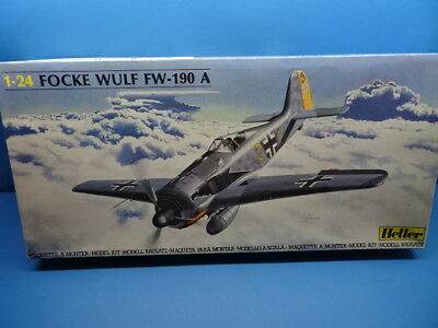1/24 HELLER ( 1988): german Fighter Fw-190 A  ( 3 Decal Optionen)