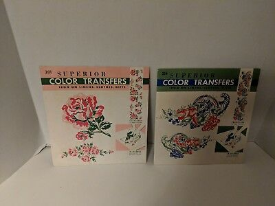 (2)Superior Color Transfers  Sheets