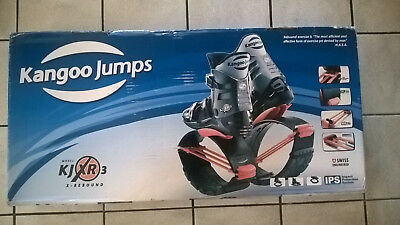 Kangoo Jumps - Black/Orange KJXR3 X-Rebound Size: L & XL