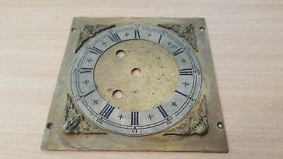 Antique Brass Clock Face Cover With Cherubs