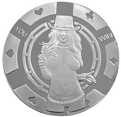 Lucky Draw Heads Tails Texas Holdem Card Guard Protector US SELLER FAST SHIPPING