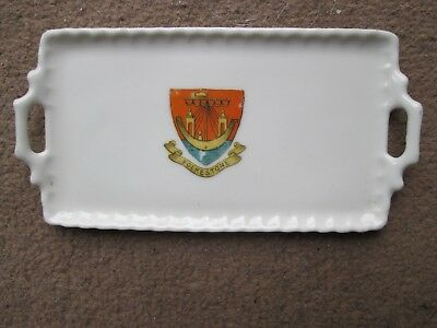Gemma Crested Tray from Folkstone