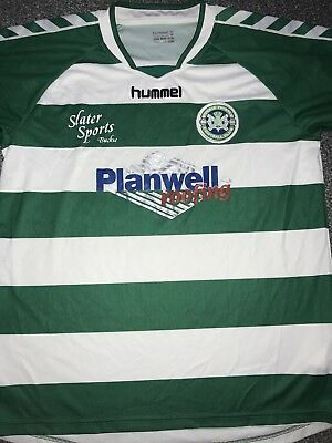 Buckie Thistle Home Shirt 2011/12 Large Rare