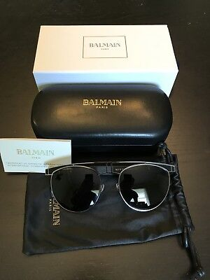 3a2beef7798 NEW CALVIN KLEIN Sunglasses CK 2147 S 001 Black 48•23•140 With Case ...