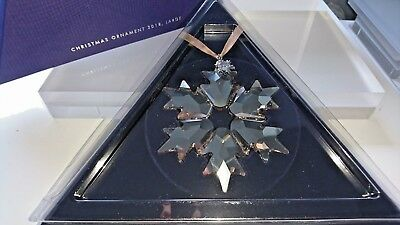 Swarovski Scs Weihnachtsstern Christmas Ornament 2018 Golden Shadow Xl 537666