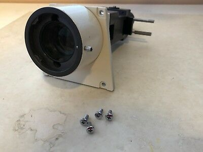 Zeiss incident light guide w/ iris part number 44 63 60 with port and cb3 filter