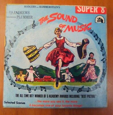The Sound Of Music Super 8 Cine Film