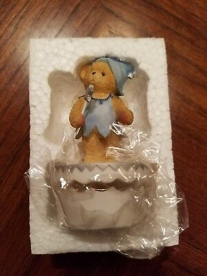 Cherished Teddies 2002 TOOTH FAIRY covered box 790516A