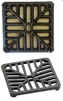 4 x 4 102mm x 102mm 9mm thick Square Cast Iron Gully GridGrate Heavy Duty Dra