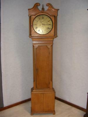 Longcase Grandfather Clock Robert Sutton Stafford 210cm