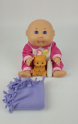 Mattel Vintage First Edition 1995 Cabbage Patch Doll Hard Body CPK Purple Eyes