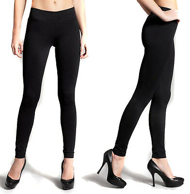 Women's High Waisted Leggings Long Solid Seamless Basic Plain Fitness Stretch