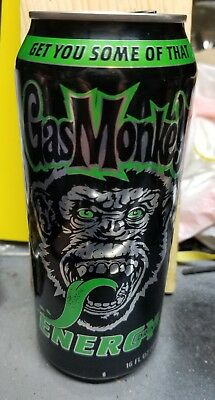 Gas Monkey Energy Drink Can