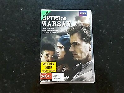 Spies of Warsaw   (DVD,2013) Region 4