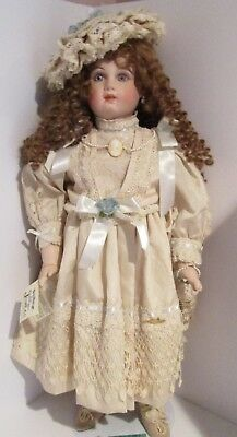 """26"""" Patricia Loveless Doll """"The Enchantment of Jumeau"""" Tete Face Jacqueline"""