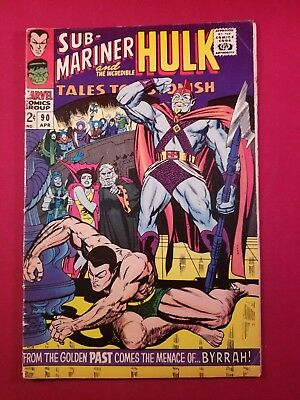 Tales To Astonish #90  1St Abomination Hulk Namor Key 1 Owner More Listed No Res