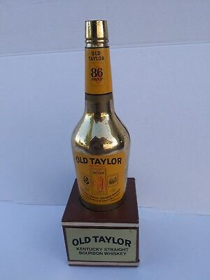 Antique rare Old Taylor Kentucky Whiskey  Display Bottle