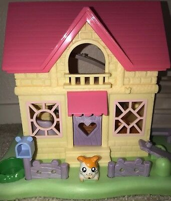 Vintage HamTaro Anime Little Hamsters Ham Ham House 2002 Hasbro