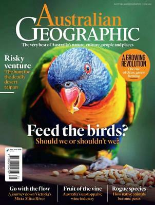 Australian Geographic Magazine - May - June 2018, Should We Feed The Birds (NEW)
