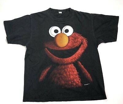 33045e2e0 Vintage Changes Elmo T Shirt Size Large XL Jim Henson Muppets 90s Retro  Cartoon