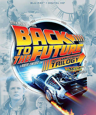 Back to the Future Trilogy (Blu-ray Disc, 2015, 4-Disc Set, Canadian 30th...
