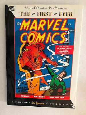Marvel Mystery #1 1939 Hardcover Reprint RARE Timely Torch SubMariner