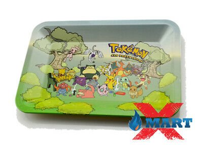 RYO TOKEMON PARTY Cigarette Tobacco Metal Small Rolling Tray 7x5