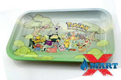 RYO TOKEMON PARTY Cigarette Tobacco Metal MEDIUM Rolling Tray 11x7