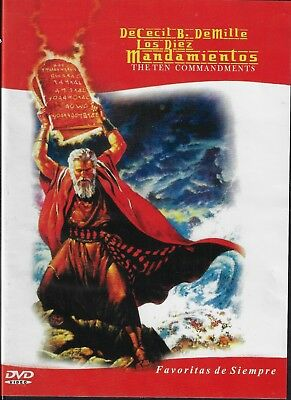 Los Diez Mandamientos (The Ten Commandments) NeW DVD Charlton Heston