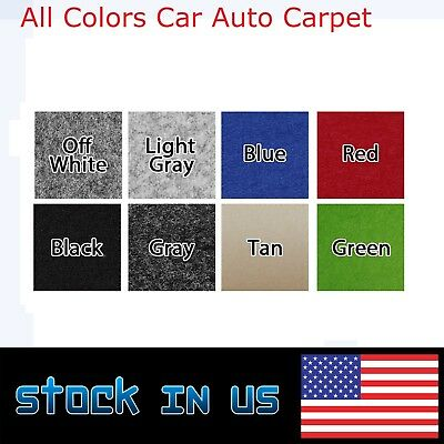 "All Colors& Size Upholstery Durable Un-Backed Autos Boat Carpet 78"" Wide By Inch"