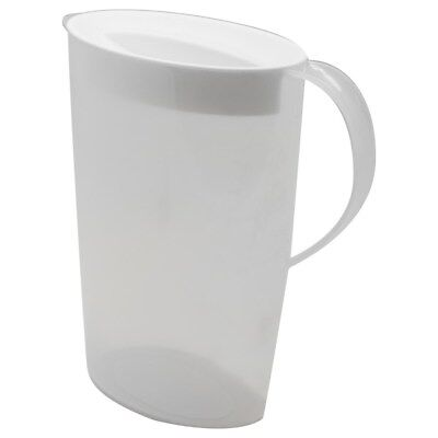 2.5L Plastic Water Jugs Lid Water Pitcher Fridge Door Jug BPA FREE Restaurant