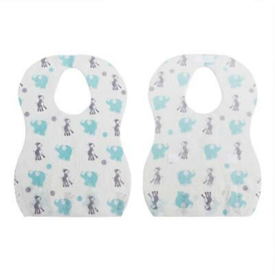 Baby Childrens Large Disposable Training Travel Outdoor Feeding Bibs T